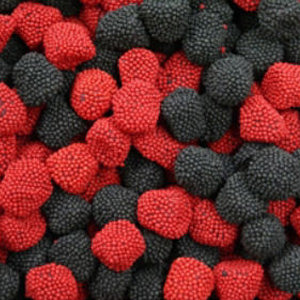 Haribo Raspberries & Blackberries - 5lb