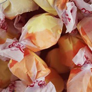 Apricot Salt Water Taffy - 5lb