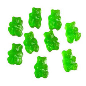 Green Apple Gummi Bears - 5lb