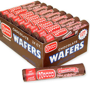 Necco Wafers - Chocolate 24ct
