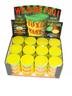 Mini Toxic Waste Barrels - 12ct Display Box