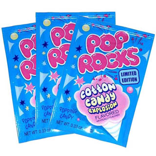 Cotton Candy Pop Rocks - 24ct