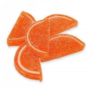 Orange Fruit Slices - Unwrapped 5lb