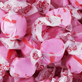 Cherry Salt Water Taffy - 5lb