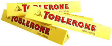 Toblerone Bars - 1.76oz 24ct