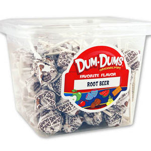 Dum Dum Pops - Root Beer 1lb Tub
