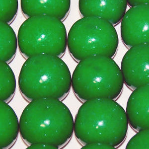Green Bubble Gum Balls - 2lb
