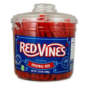 Red Vines - Red Twists 160ct Tub