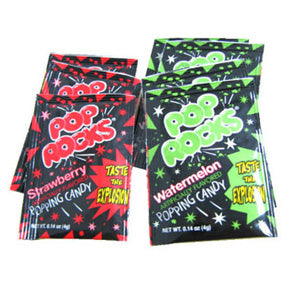 Strawberry & Watermelon Pop Rocks - Fun Size