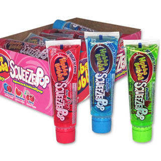Squeeze Pops - Assorted 18ct