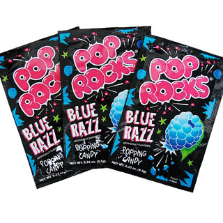 Blue Razz Pop Rocks - 24ct