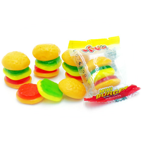Gummi Mini Burgers Candy