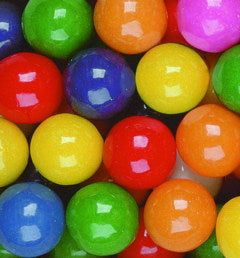 Assorted Bubble Gum Balls 3/4-inch - 18.22lb Box