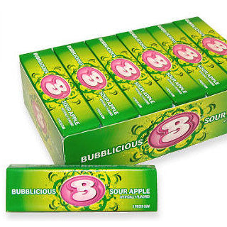 Sour Apple Bubblicious - Small 18ct