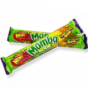 Mamba Sour Fruit Chews - 24ct