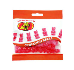 Jelly Belly Cinnamon Bears - 3oz Bags 12ct