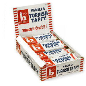 Vanilla Turkish Taffy by Bonomo - 24ct