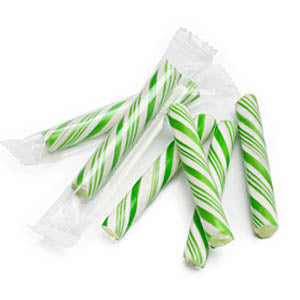 Green Candy Sticklettes Mini - 250ct