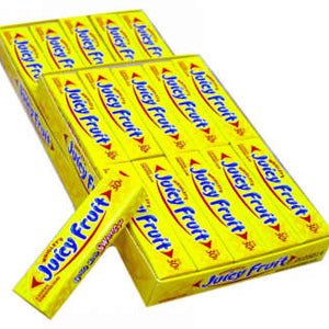 Wrigley's Juicy Fruit Gum - Small 40ct