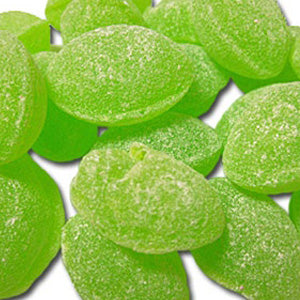 Green Apple Hard Candy Drops - Sanded 10lb