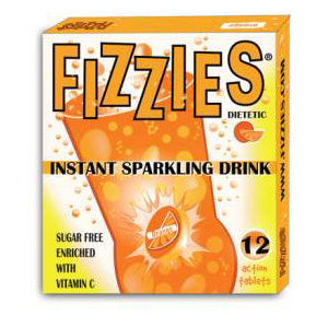 Fizzies Orange - 6ct
