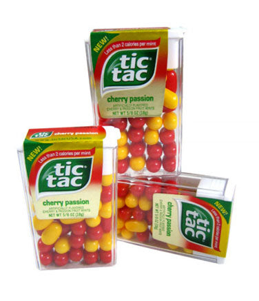 Tic Tacs Cherry Passion - Big Pack 12ct