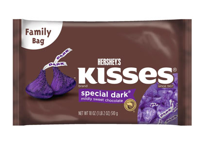 Dark Hersheys Kisses - 18oz