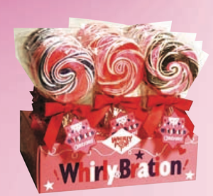 Valentines Day Whirlybration Pops - 18ct