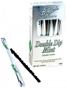 Reception Sticks Double-Dip Mint Chocolate - Silver Box 2.625oz