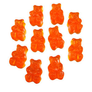 Peach Gummi Bears - 5lb