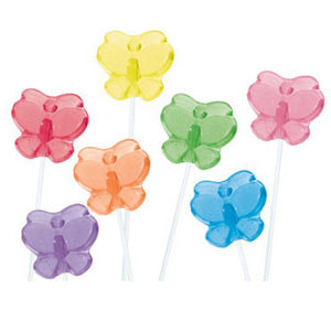 Butterfly Twinkle Pops - 120ct