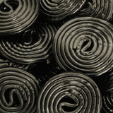 Haribo Black Licorice Wheels - 5lb