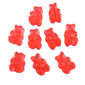 Watermelon Gummi Bears - 5lb