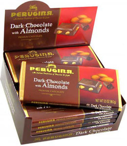 Perugina Dark Chocolate & Almonds - 12ct Display Box