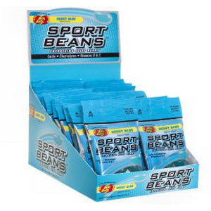 Jelly Belly Sport Beans - Berry Blue 24ct