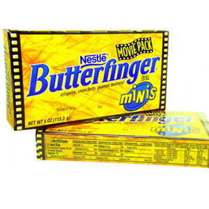 Butterfinger Mini Bars - Theater Boxes 12ct