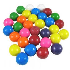 Assorted Bubble Gum Balls 1/4-Inch - 8500ct Case