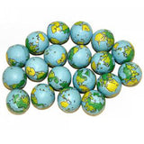 Blue & Green Chocolate Earths Balls - 5lb Bag