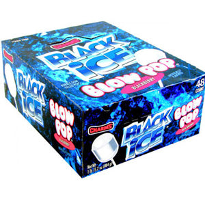 Black Ice Blow Pops - 48ct Box