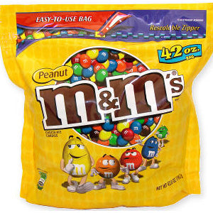 M&M's - Peanut 38oz Bag