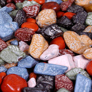 Chocolate Rocks Candy - 5lb Bag