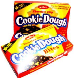 Cookie Dough Bites - Theater Boxes Chocolate Chip - 12ct