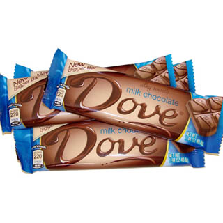 Dove Bars - Milk Chocolate 18ct