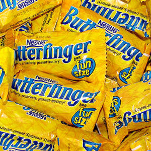 Butterfinger Bars - Fun Size 5lb