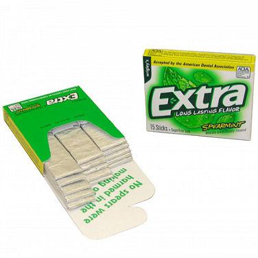 Wrigley's Extra Spearmint - 15-Stick Slim Packs 10ct