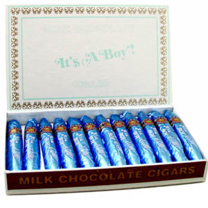 It's a Boy Chocolate Cigars - 24ct