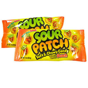 Sour Patch Peaches - 2oz Bags 24ct