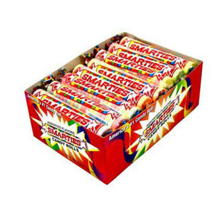 Mega Smarties Rolls - 24ct