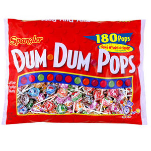 Dum Dum Pops - Assorted 180ct Bag