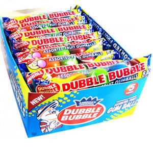 Assorted Dubble Bubble Gum Balls - 24ct